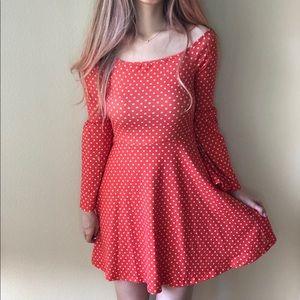 ASOS - polka dot skater dress